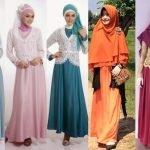 Model Baju Muslim Terbaru Mei 2018